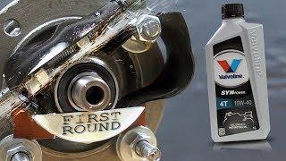Valvoline SynPower 4T 10W40 Jak skutecznie olej chroni silnik?