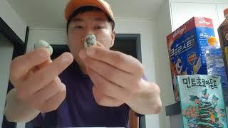 GS25에서 원플러스원! 민트초코아몬드