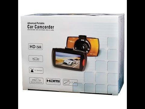 Advanced Portable Car Camcorder Installation And Sample Footage