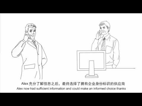 A platform makes global trade easier - Corporate Identity Verification (CIV) 企業身份標識