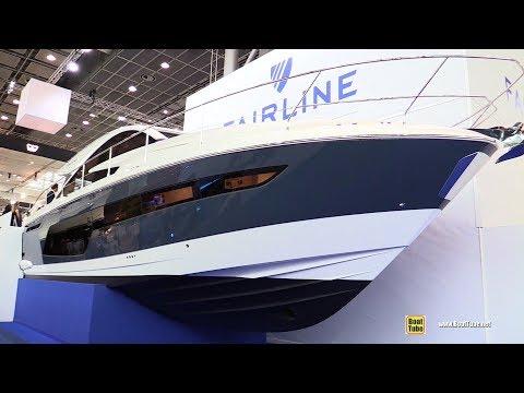 2018 Fairline 48 GT Yacht - Walkaround - 2018 Boot Dusseldorf Boat Show