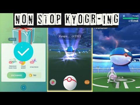 Download Youtube: World First! Kyogre Marathon in Pokemon Go! How to Catch Legendary Pokemon?