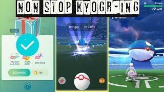 World First! Kyogre Marathon in Pokemon Go! How to Catch Legendary Pokemon?