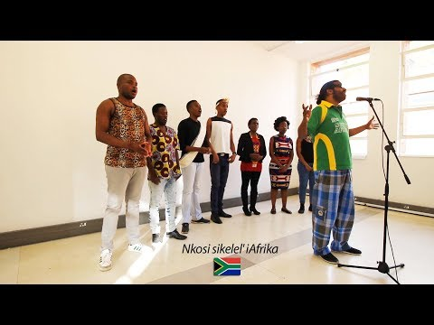 The South African National Anthem (Nkosi Sikelel' iAfrika) Featuring Anchored Sound