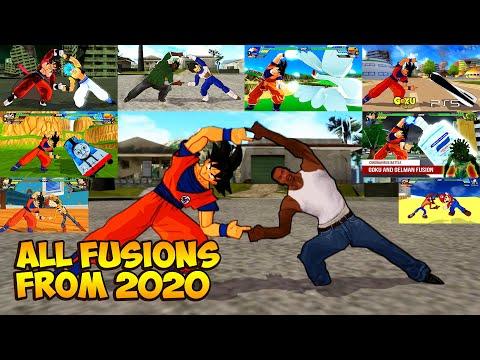 🔥 ALL FUSIONS From 2020: Dragon Ball Z Budokai Tenkaichi 3 (HD)
