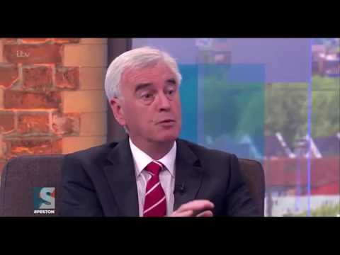 John McDonnell - Labour policy is to leave the single market