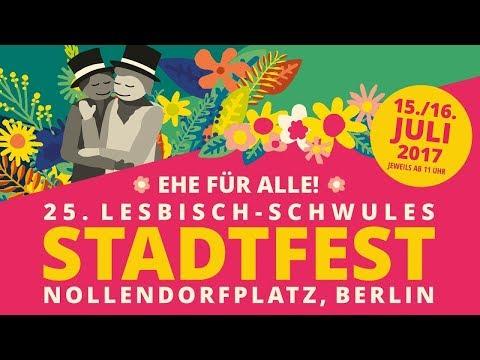 25. Lesbisch-schwules Stadtfest Berlin (15./16.07.2017)