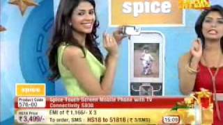 HomeShop18.com - Spice Touchscreen with TV Connectivity @3499