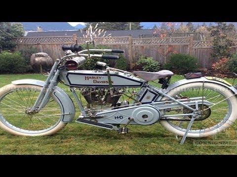 Inilah Penampakan Motor Kuno Termahal Didunia Harley Davidson