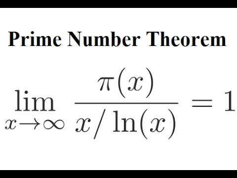 Image result for prime number theorem