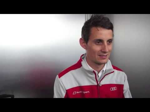 Interview: Oliver Jarvis, Audi Sport R18 e-tron quattro driver at Le Mans 2013 (Tues)