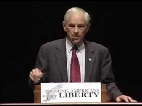 Ron Paul- Socialism in a Libertarian society vs Libertarianism in a Socialist society