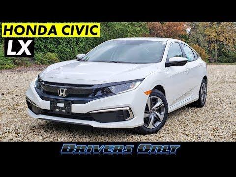 2020 Honda Civic LX 6-Speed Manual - Best Sedan Under $20,000