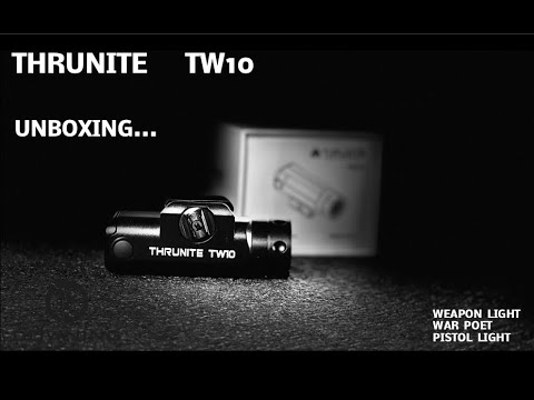Thrunite TW10, Weapon Light Unboxing