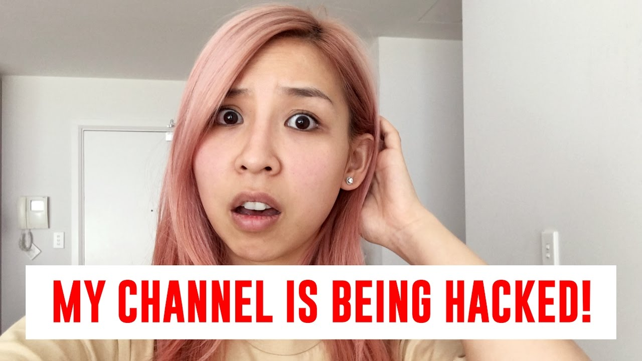 MY CHANNEL JUST GOT HACKED!! WTF!