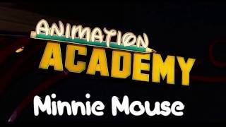 Learn How to Draw: Minnie Mouse! Animation Academy : Disney