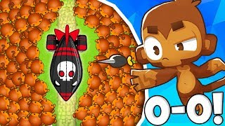 Bloons TD Battles | NO TOWER UPGRADE CHALLENGE