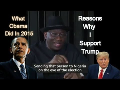 This Is Why I support Donald Trump -  Jonathan Exposes Obama
