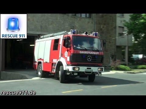Pumper Fire department Budapest Fire station Újbuda