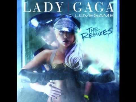 Lady Gaga- Love Game Lyrics On Screen
