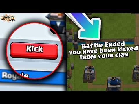 Thumbnail: WHAT HAPPENS if you KICK SOMEONE from a CLAN DURING a PUBLIC MATCH?! Clash Royale [ReTrex]
