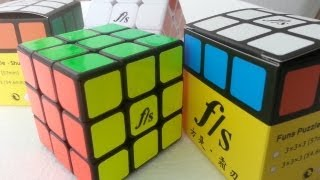 - Fangshi Shuang Ren Review Mass Production Unboxing From Funs Puzzle New 3x3