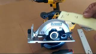 Installing Side Track saw attachment
