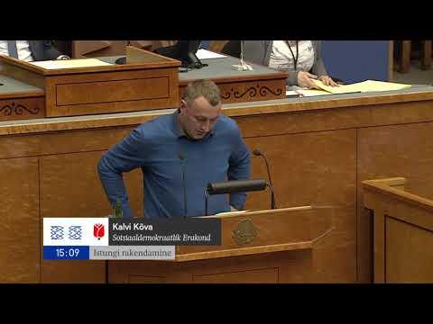 Riigikogu istung, 6. november 2017