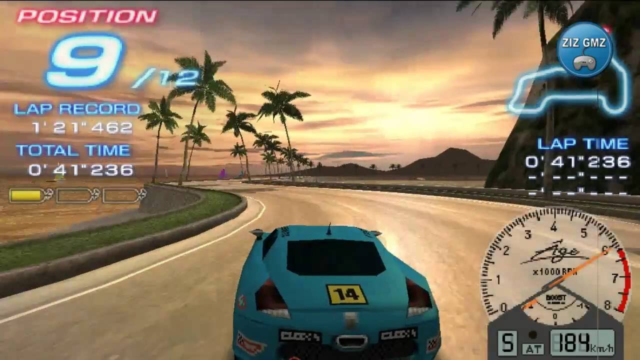 Car Games 2016 >> Ridge Racer 2 Gameplay Psp Car Racing Games 2016 Car Racing For Kids