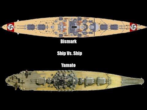 Ship vs. Ship Ep.1: Yamato Vs  Bismark