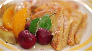 Banana Caramel French Toast (เครื่องครัวไมย์เออร์ประเทศไทย)