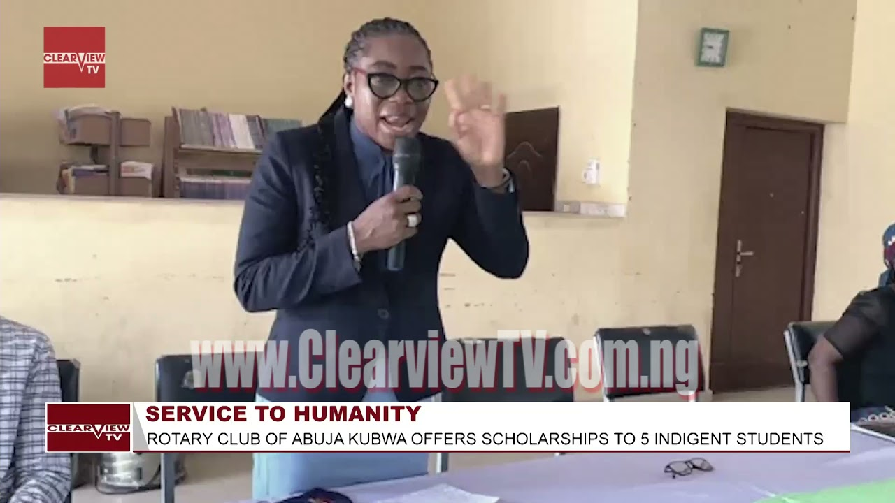Rotary Club of Abuja Kubwa offers scholarship to 5 indigent students in  Abuja City suburb.