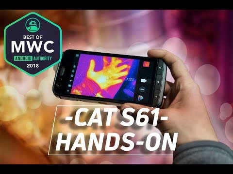 Cat S61 Hands On: See Like The Predator