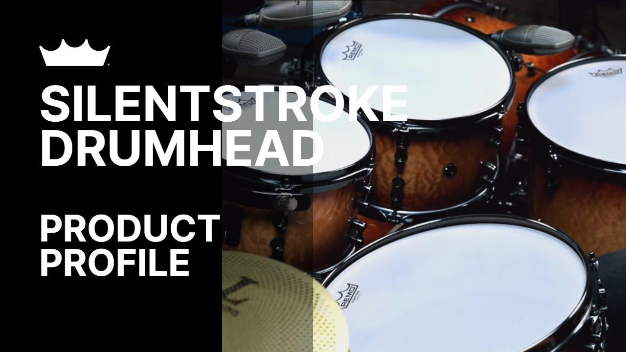 "Remo Silent Stroke Gewebefell 12/"" SN-0012-00 Tom"