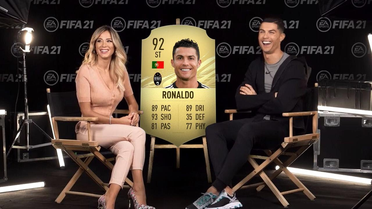 Download 10 Football Players who Reacted BADLY to their FIFA 21 Ratings