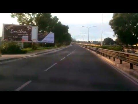 Malta Driving:  Msida to Luqa Airport