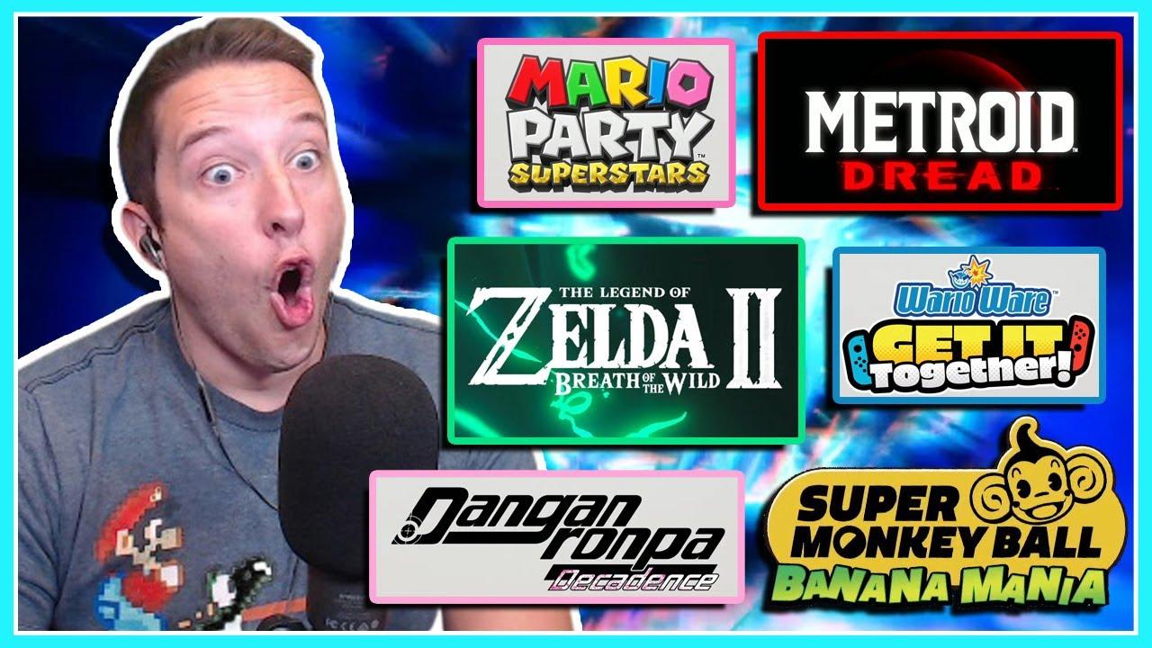 Nintendo's E3 2021 Presentation BLEW ME AWAY!!!