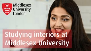 Studying an Interiors Degree at University | Middlesex University