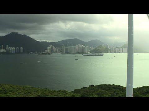 Chine: le porte-avions Liaoning pour la 1e fois à Hong Kong