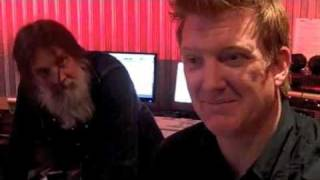 Them Crooked Vultures - Behind the scenes (BBC Session)