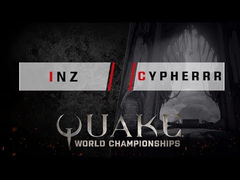Quake - inz vs. Cypherrr [1v1] - Quake World Championships - Ro16 EU Qualifier #1