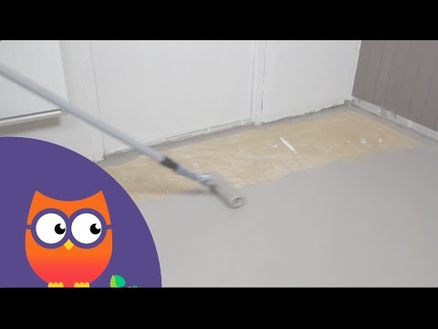 Peindre Un Sol En Ciment OorekaFr  Youtube