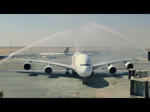 Emirates A380 lands in Cairo | Emirates Airline