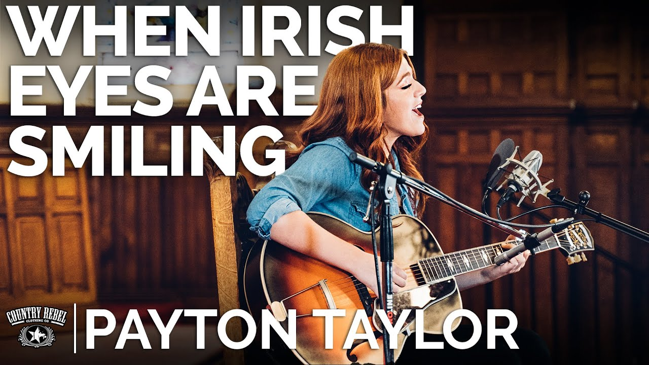 Payton Taylor — When Irish Eyes Are Smiling (Acoustic Cover) // The Church Sessions