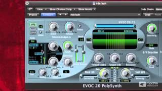 Logic 210: Vocoding With EVOC - 04 Exploring FM Mode
