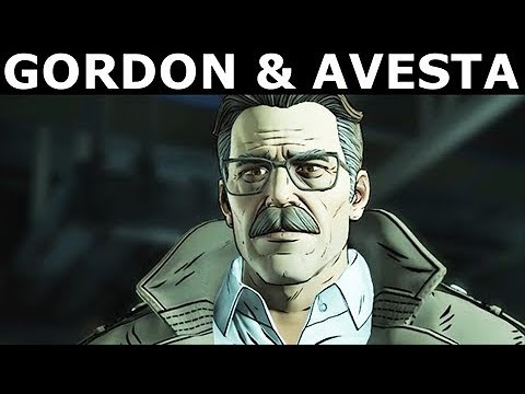Call Gordon For Help & Talk To Agent Avesta - BATMAN Season 2 The Enemy Within Episode 2: The Pact