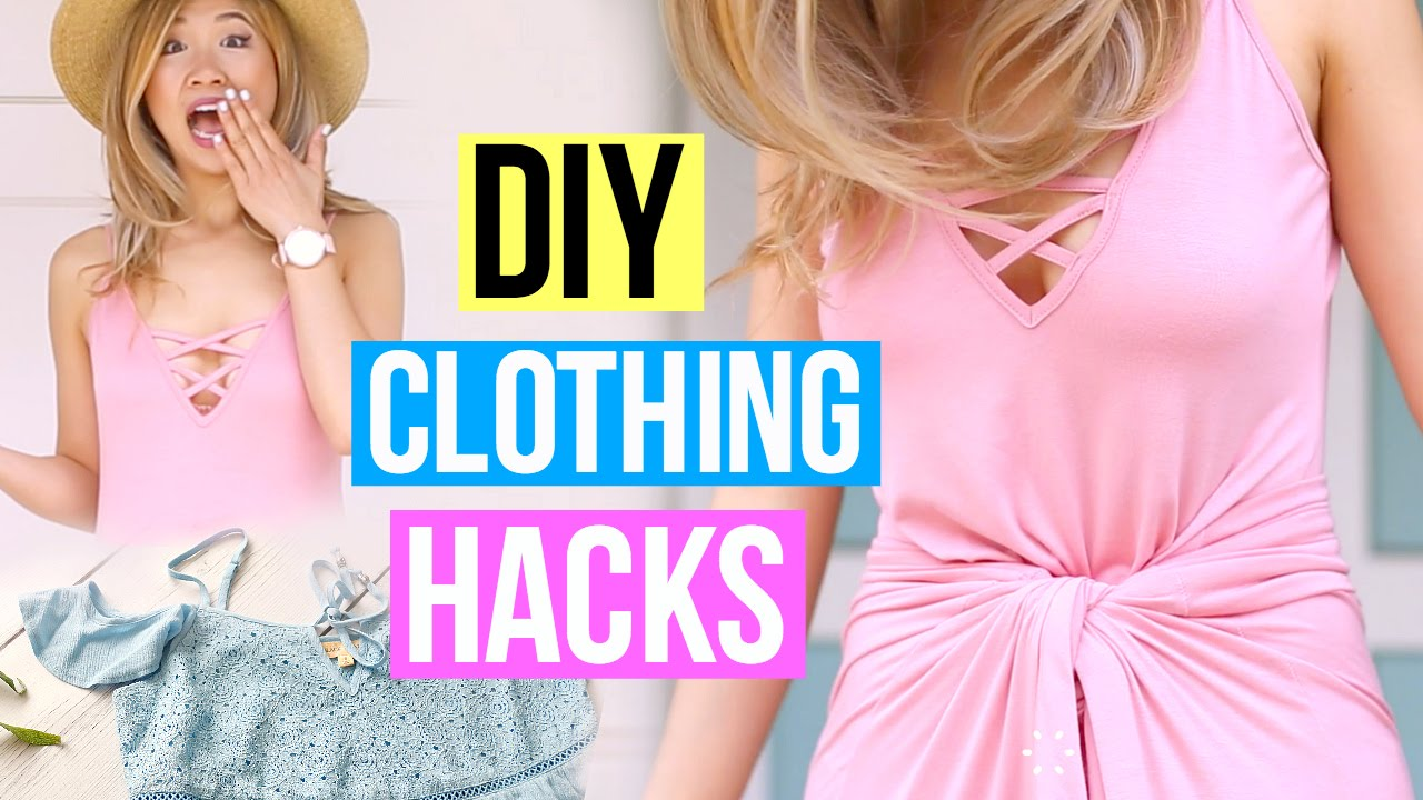 1e76363d88f2bd DIY Clothing Life Hacks You Must Know! - YouTube
