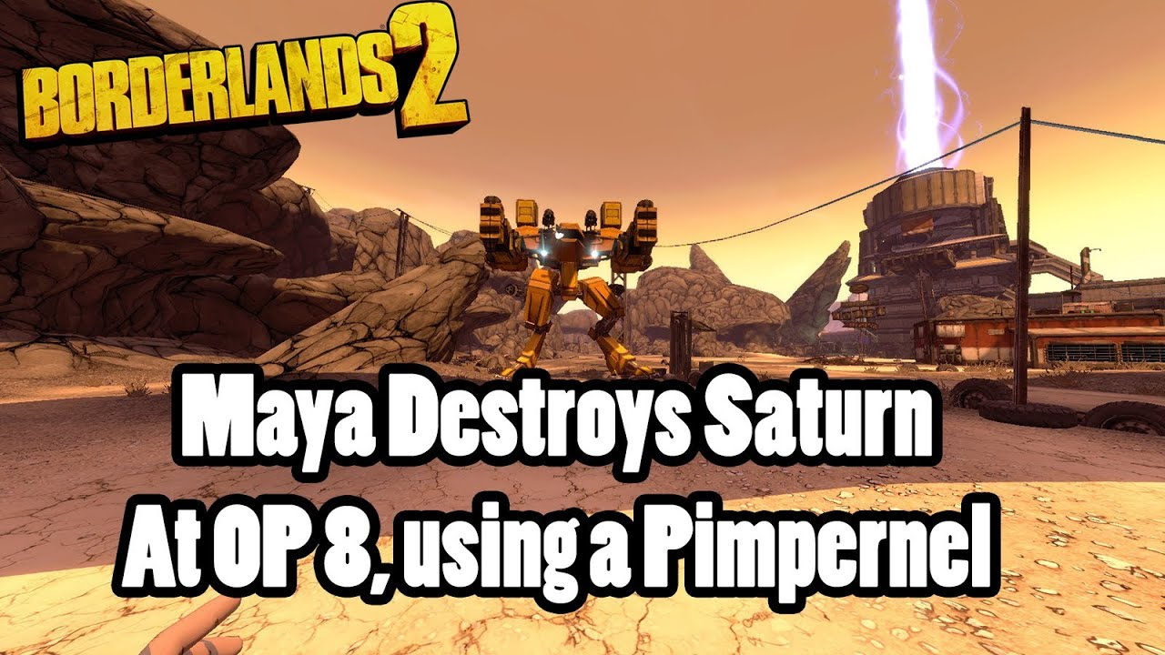 Borderlands 2: Maya can 'bore' Saturn, too! (Chain Reaction)