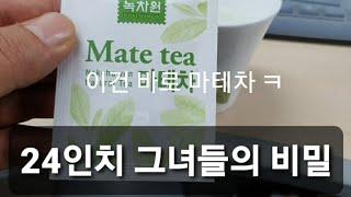 만담덕후의 극강다이어트 브이로그 7일차 마테차~