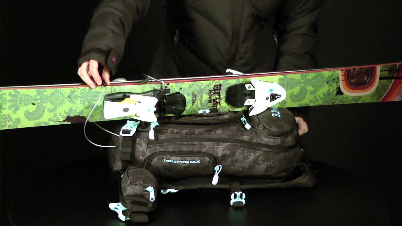 Dakine womens Heli Pro DLX 18L 2013 - YouTube